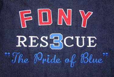 Our jacket back for Rescue 3  Check out our others in our Photo Album